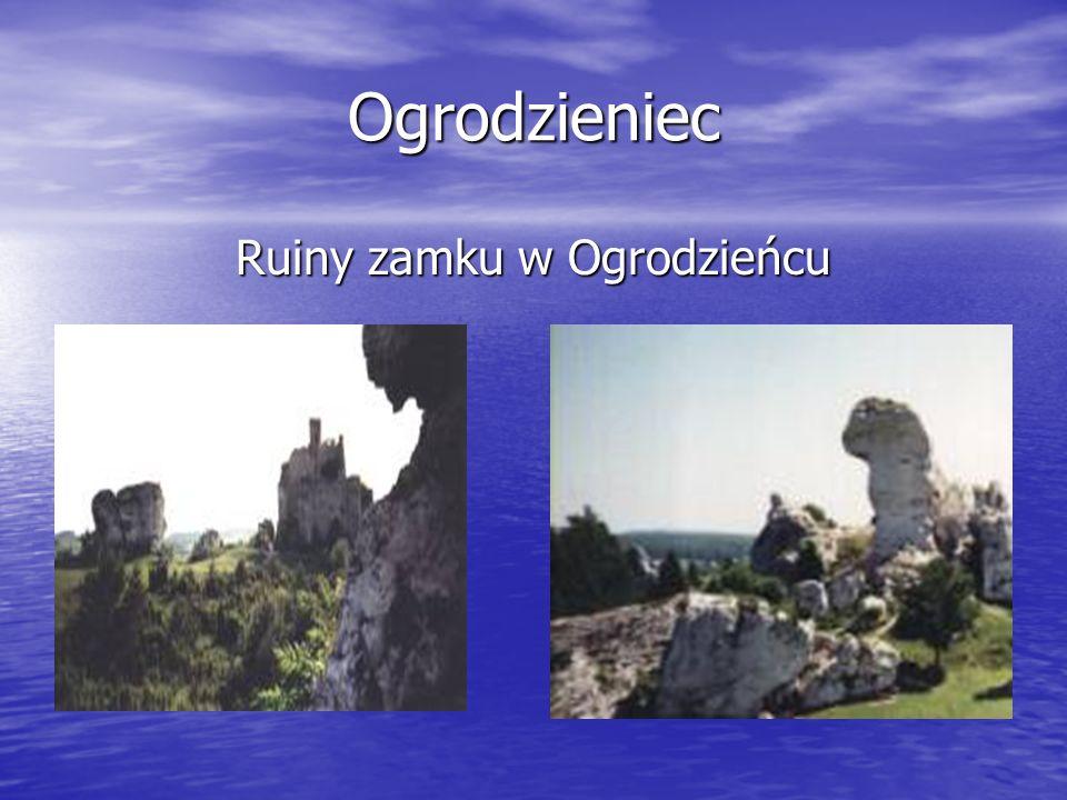 Ogrodzieniec Ruiny zamku w Ogrodzieńcu