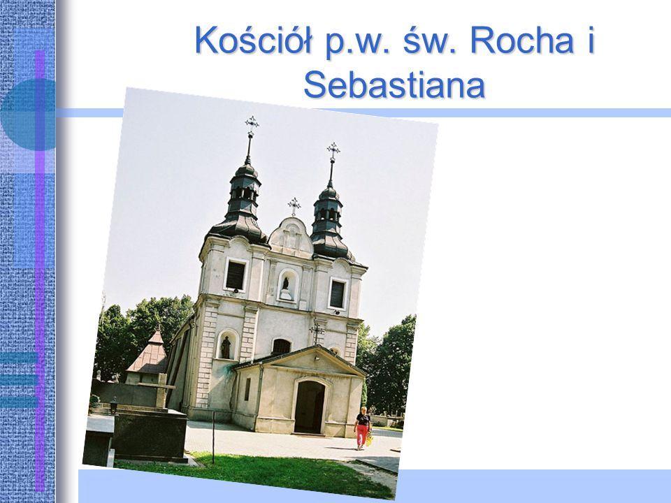 Kościół p.w. św. Rocha i Sebastiana