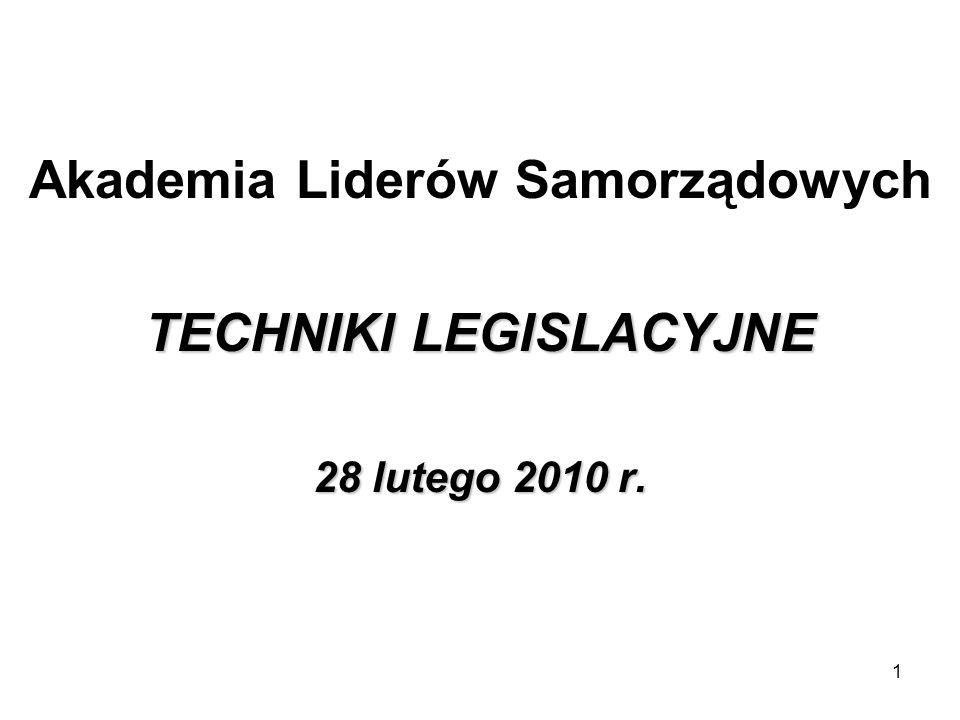 Konstytucja Art.87. 1.