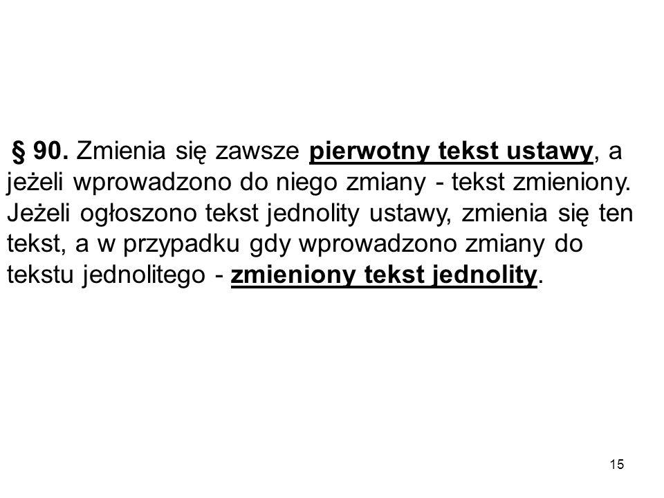 § 1.W uchwale Sejmiku Województwa Pomorskiego z dnia …… w sprawie ……..