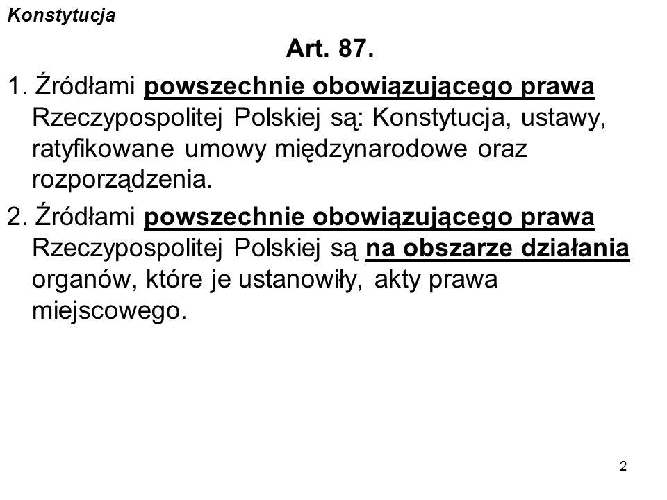 Konstytucja Art.92 1.