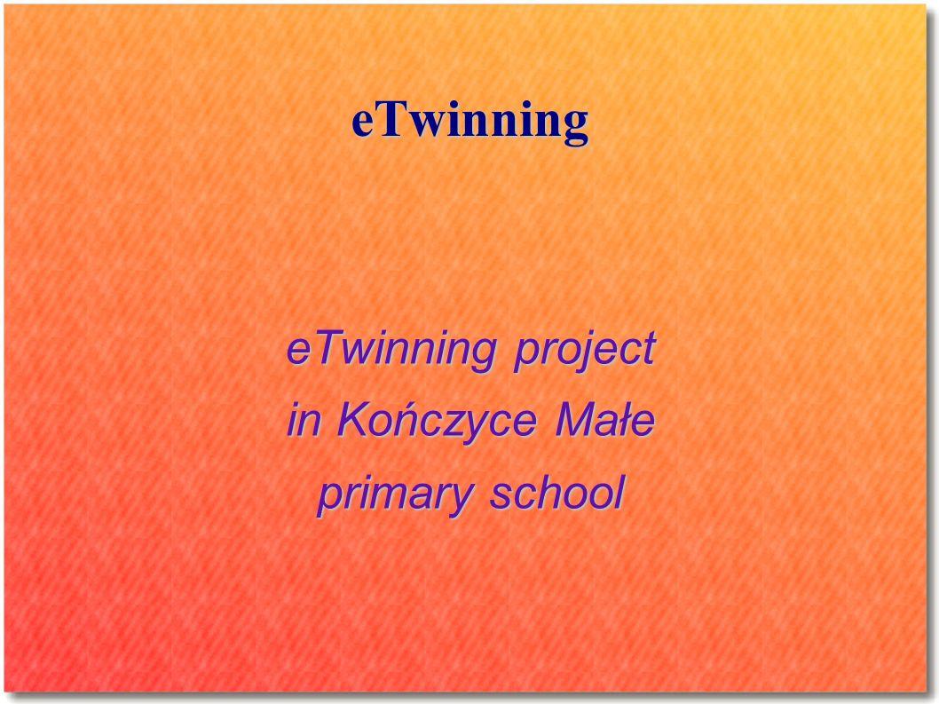 eTwinning eTwinning project in Kończyce Małe primary school