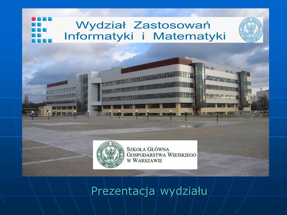 WZIiM prowadzi dwa kierunki kształcenia Informatyka i Ekonometria Informatyka Informatyka oba w systemie stacjonarnym i niestacjonarnym