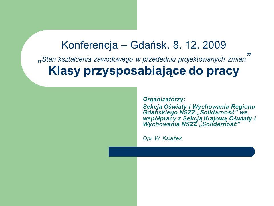 Konferencja – Gdańsk, 8. 12.
