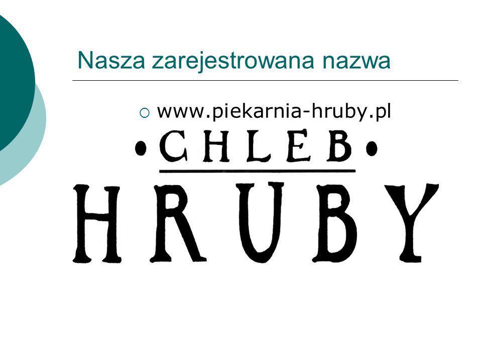 Nasza zarejestrowana nazwa www.piekarnia-hruby.pl