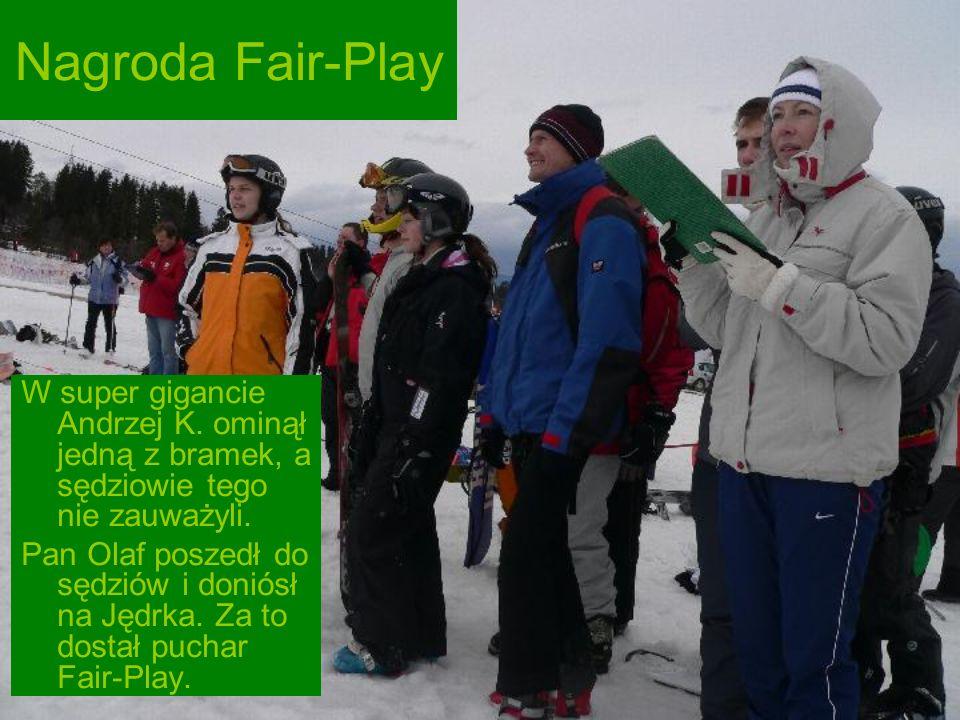 Nagroda Fair-Play W super gigancie Andrzej K.