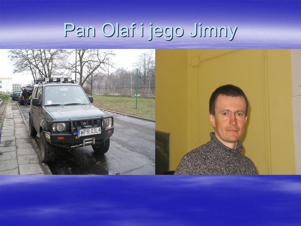 Pan Olaf i jego Jimny