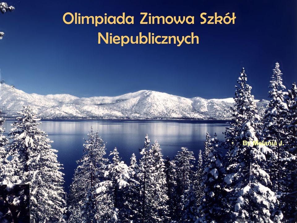 Olimpiada Zimowa Szkół Niepublicznych By Melania J.