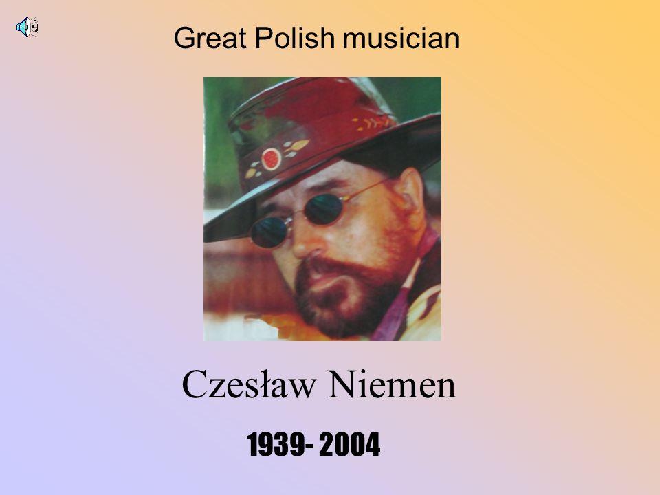 Czesław Niemen 1939- 2004 Great Polish musician