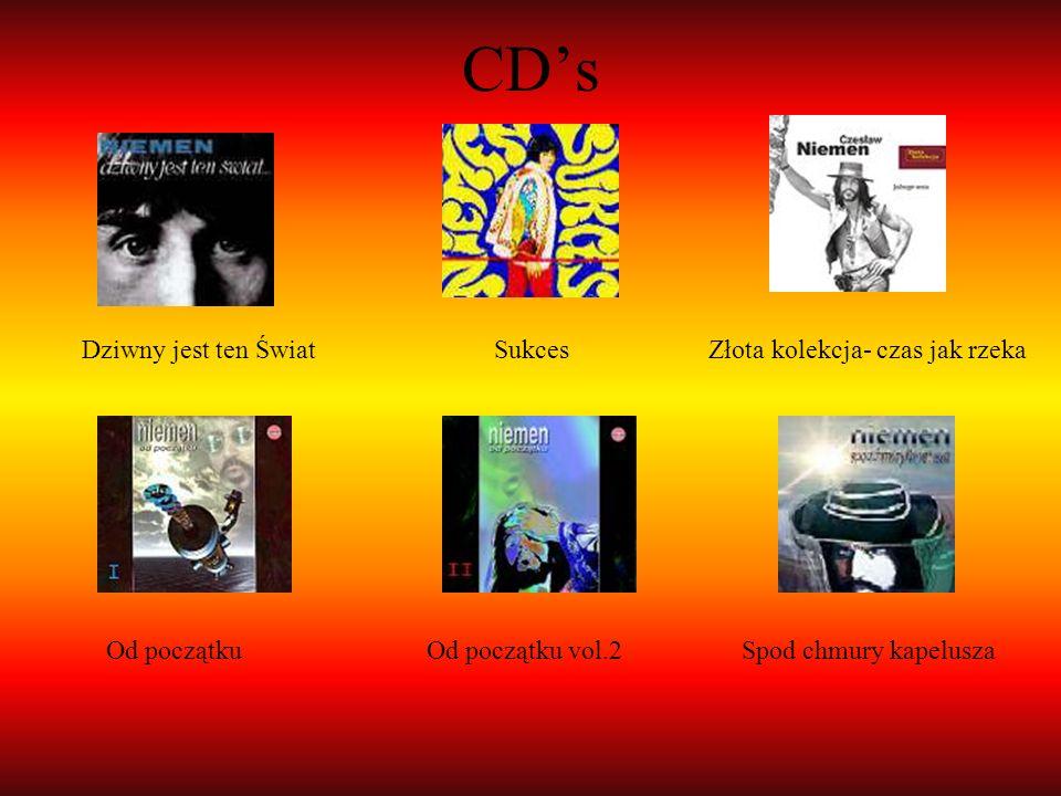 CDs Dziwny jest ten Świat Sukces Złota kolekcja- czas jak rzeka Od początku Od początku vol.2 Spod chmury kapelusza