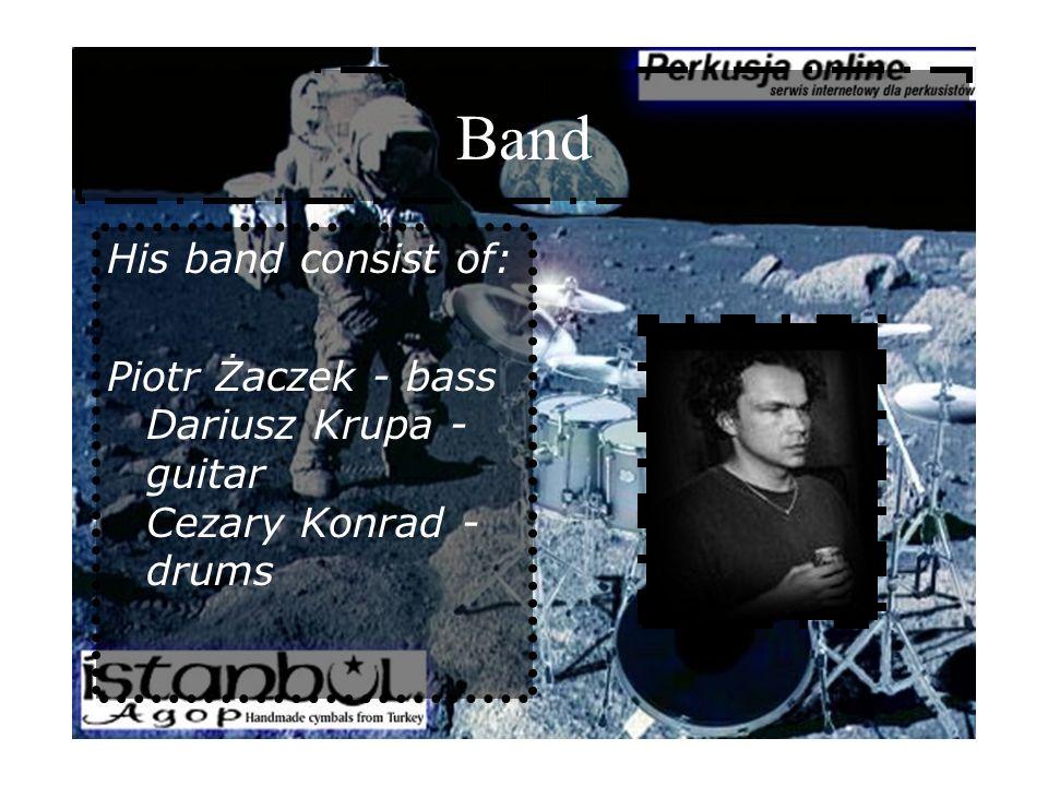 Discography 1.BAŁATA MAREK - VOICE PAINTINGS 2.BARTOSIEWICZ EDYTA - LOVE 3.BORKOWSKA DOROTA - JAZZ STANDARDS 4.CENTRAL HEATING - LIVE AKWARIUM 5.FILIP WOJCIECHOWSKI TRIO - CLASSIC JAZZ 6.HERDZIN KRZYSZTOF - ALMOST AFTER 7.JOPEK ANNA MARIA - SZEPTEM 8.JOPEK ANNA MARIA - BOSA 9.KONIKIEWICZ WOJCIECH - ANOTHER FORM OF COMMUNICATION 10.KONRAD CEZARY - ONE MIRROR...