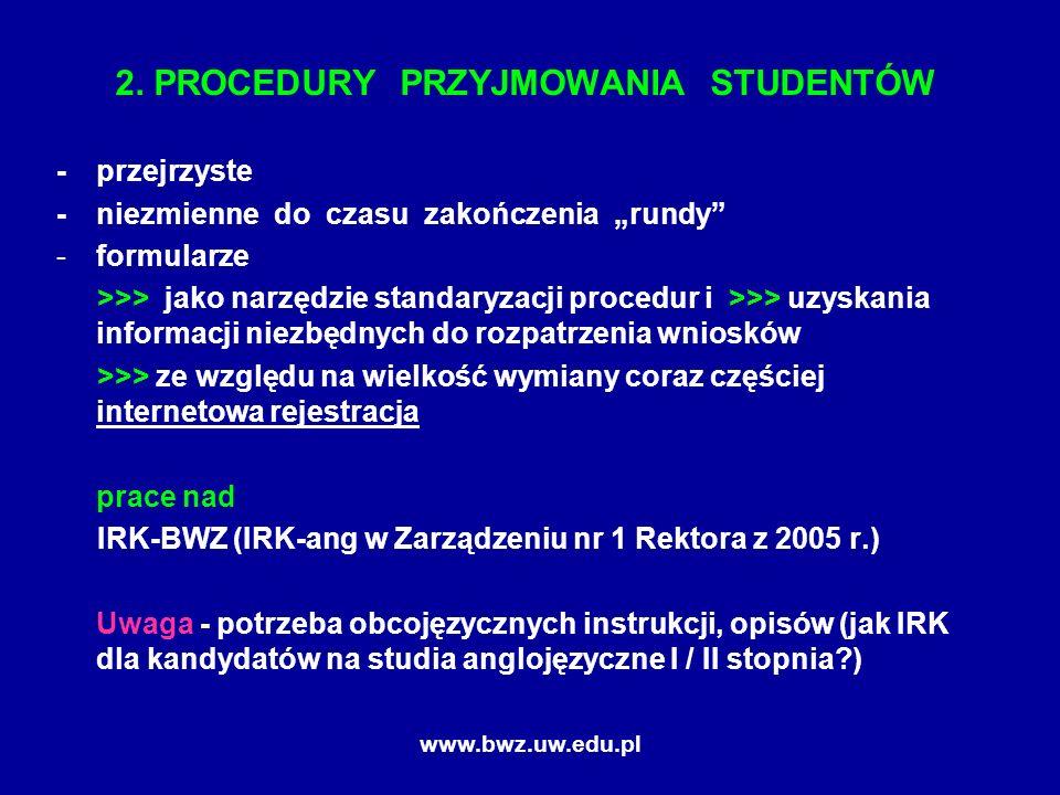www.bwz.uw.edu.pl 2.