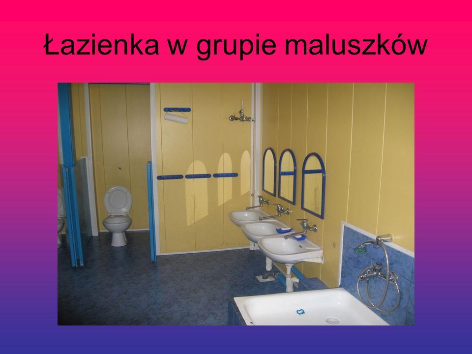 Łazienka w grupie maluszków
