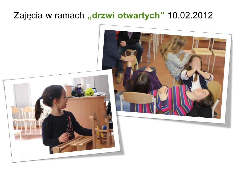 Zajęcia w ramach drzwi otwartych 10.02.2012