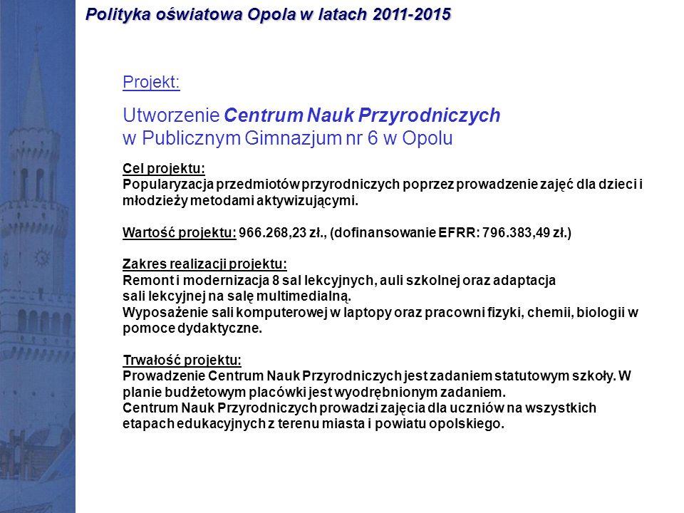 Opolski Festiwal Nauki organizowany przez Uniwersytet Opolski i Politechnikę Opolską 24.06.2012 r.