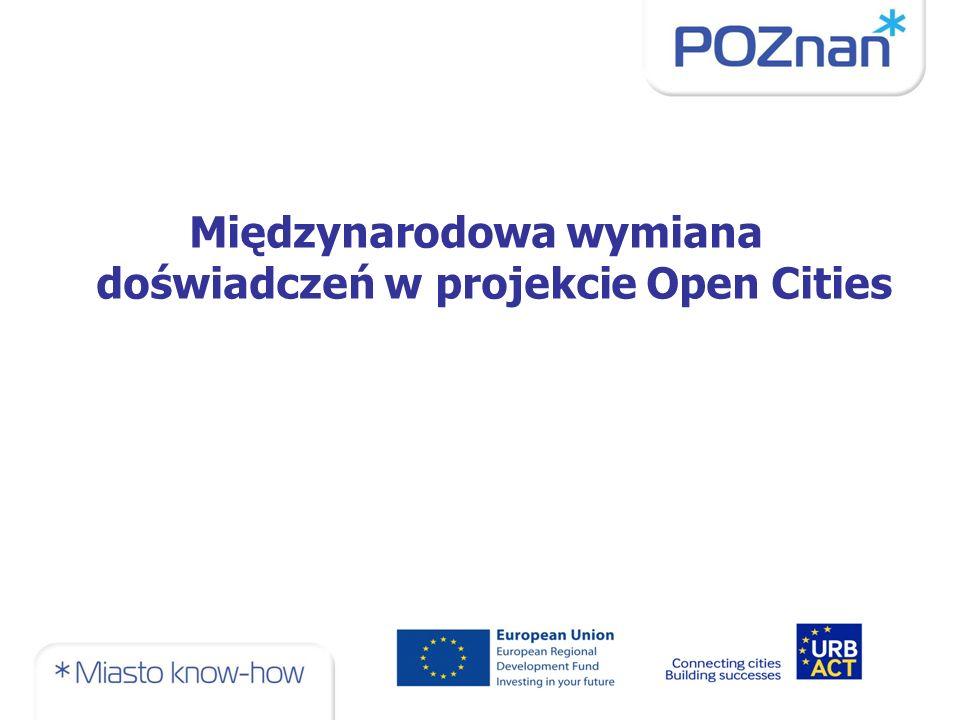 Międzynarodowa wymiana doświadczeń w projekcie Open Cities