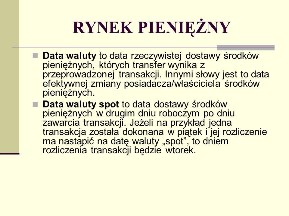 INSTRUMENTY RYNKU PIENIĘŻNEGO Wyróżnia się dwa podstawowe kryteria klasyfikacji instrumentów rynku pieniężnego.
