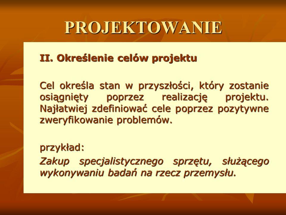 PROJEKTOWANIE II.