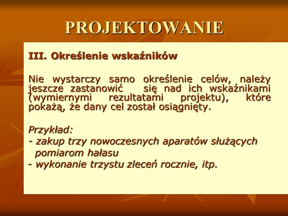 PROJEKTOWANIE III.