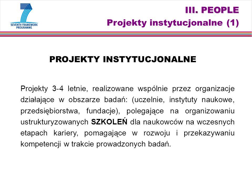 III. PEOPLE III.