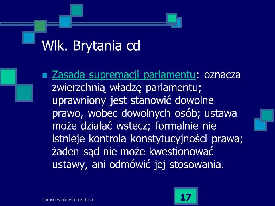 opracowanie Anna Łabno 17 Wlk.