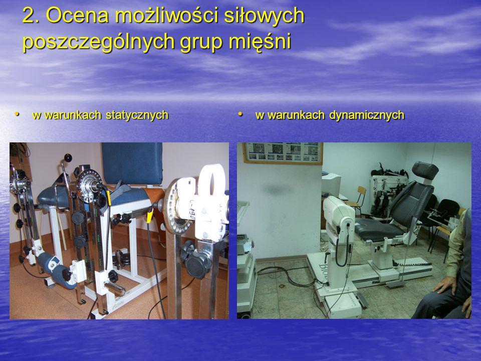 3. Trójwymiarowa analiza ruchu i ocena lokomocji człowieka