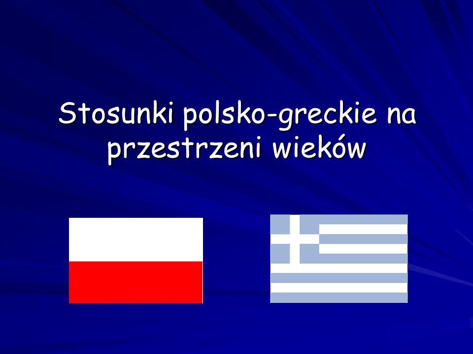 Stosunki polsko-greckie na przestrzeni wieków