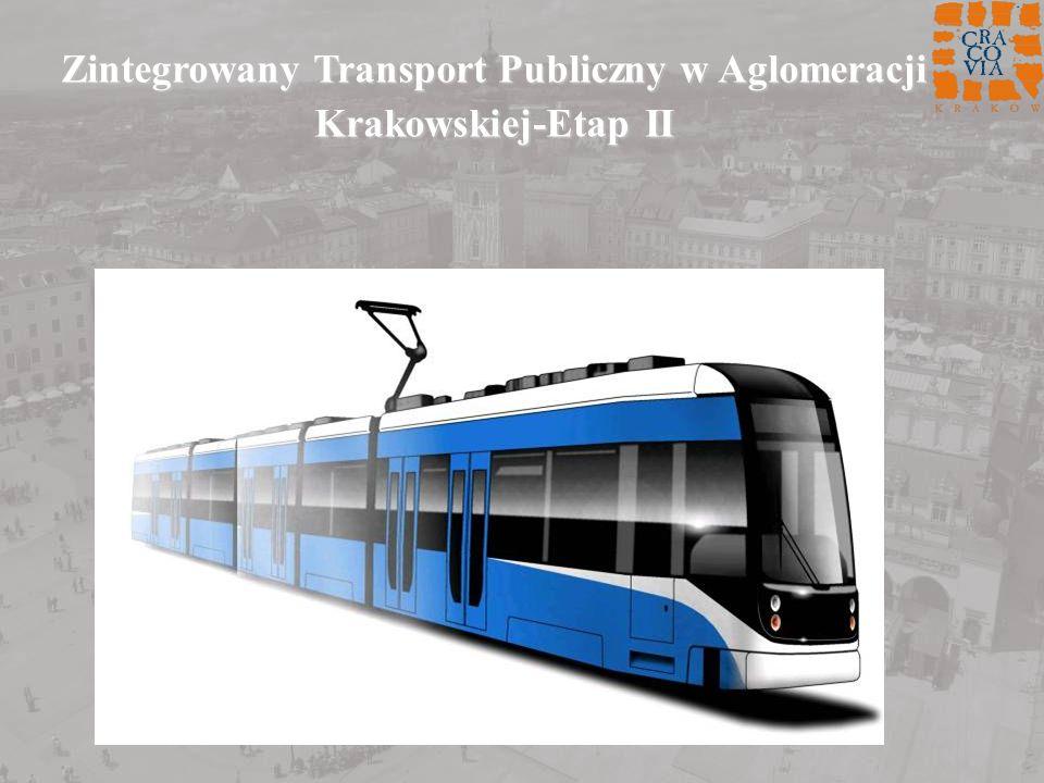 Zintegrowany Transport Publiczny w Aglomeracji Krakowskiej-Etap II