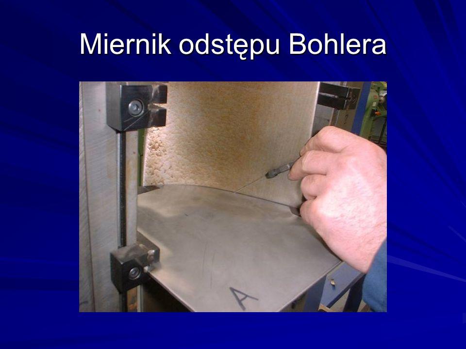 Miernik odstępu Bohlera