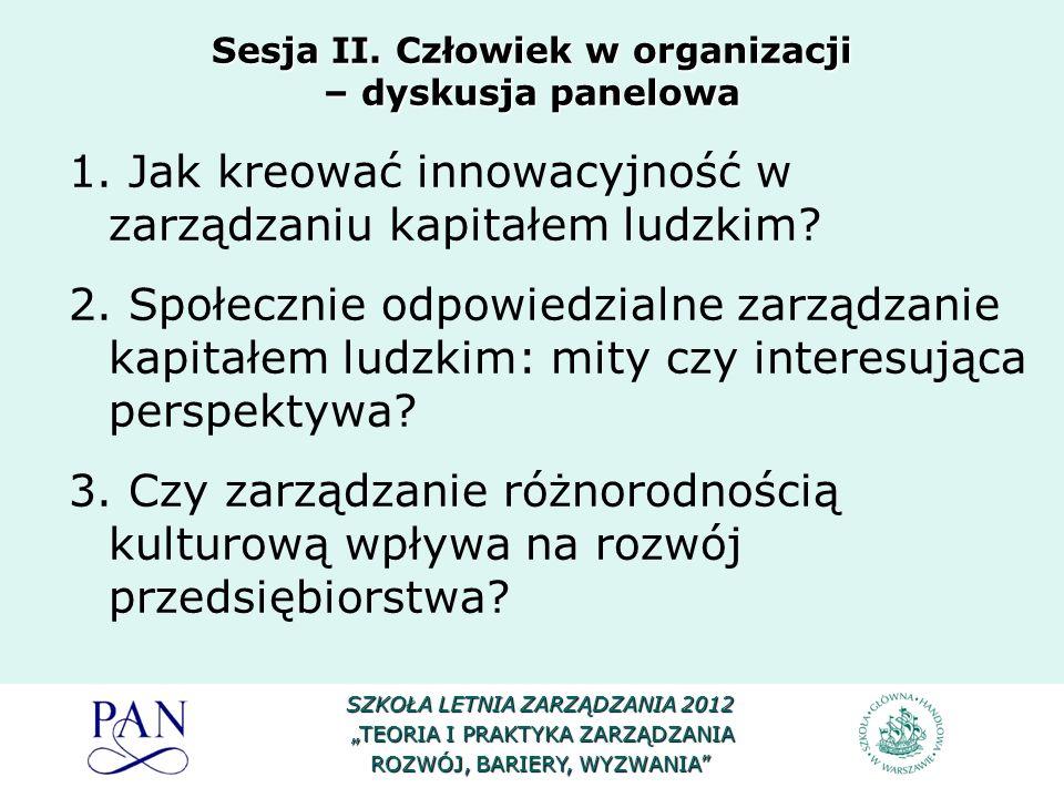 Uczestnicy panelu: Prof.dr hab. Marek Stankiewicz– przewodniczący Prof.