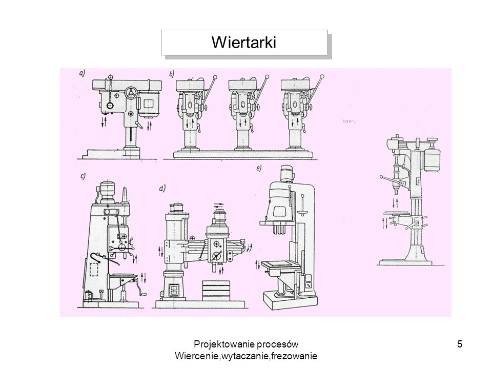 Projektowanie procesów Wiercenie,wytaczanie,frezowanie 16 Wytaczadło do obróbki wykańczającej