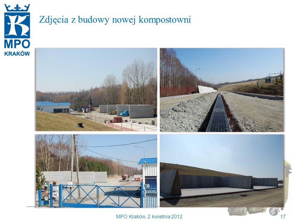 MPO Kraków, 2 kwietnia 201217 Kilka słów o MPO Kraków Zdjęcia z budowy nowej kompostowni