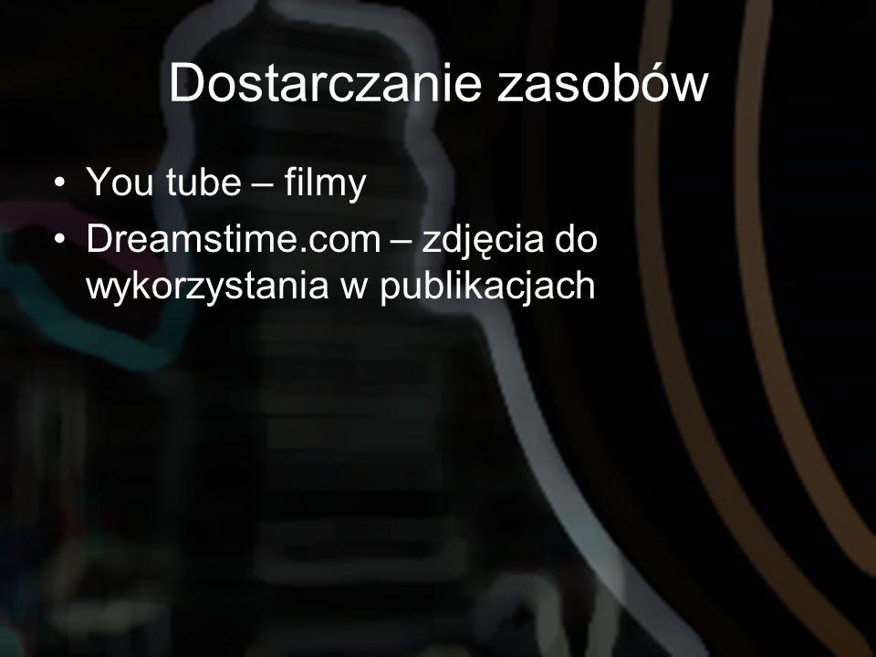 Dostarczanie zasobów You tube – filmy Dreamstime.com – zdjęcia do wykorzystania w publikacjach