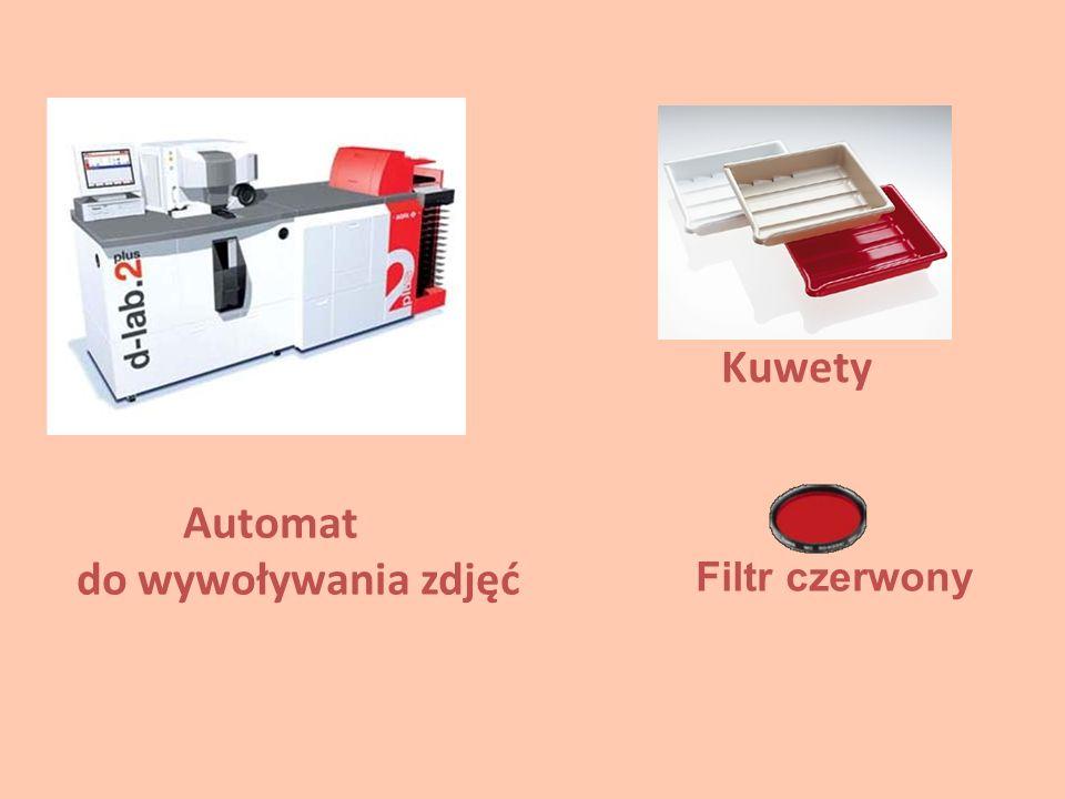 Automat do wywoływania zdjęć Kuwety Filtr czerwony