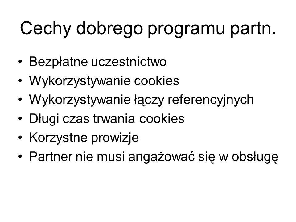 Cechy dobrego programu partn.