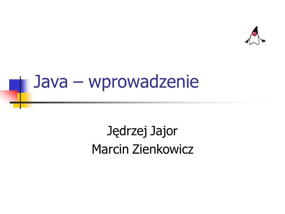 10 lipca 2002r.Jędrzej Jajor & Marcin Zienkowicz21 Zarządzanie pamięcią w Javie nie ma destruktorów obiekty, do których nie ma referencji, są usuwane automatycznie przez specjalny wątek JVM: garbage collector Plan: Historia Cechy Obiektowość -Zgodność -Klasy i obiekty -Dziedziczenie -Hermetyzacja -Polimorfizm Interfejsy Środowisko Pakiety HelloWorld.