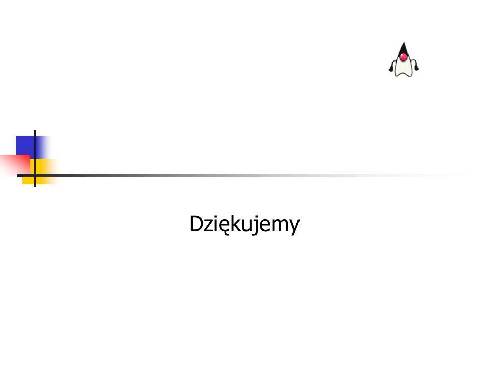 10 lipca 2002r.Jędrzej Jajor & Marcin Zienkowicz45 Źródła informacji java.sun.com/j2se/1.4 www.javasoft.com/j2se/1.4/docs www.javasoft.com/docs/books/