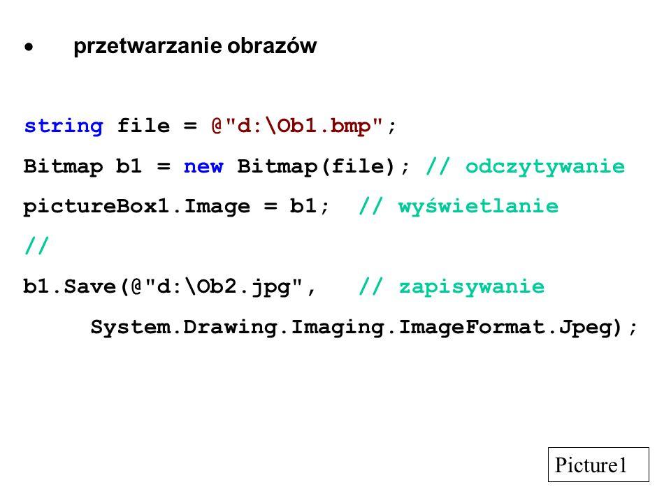 przetwarzanie obrazów string file = @