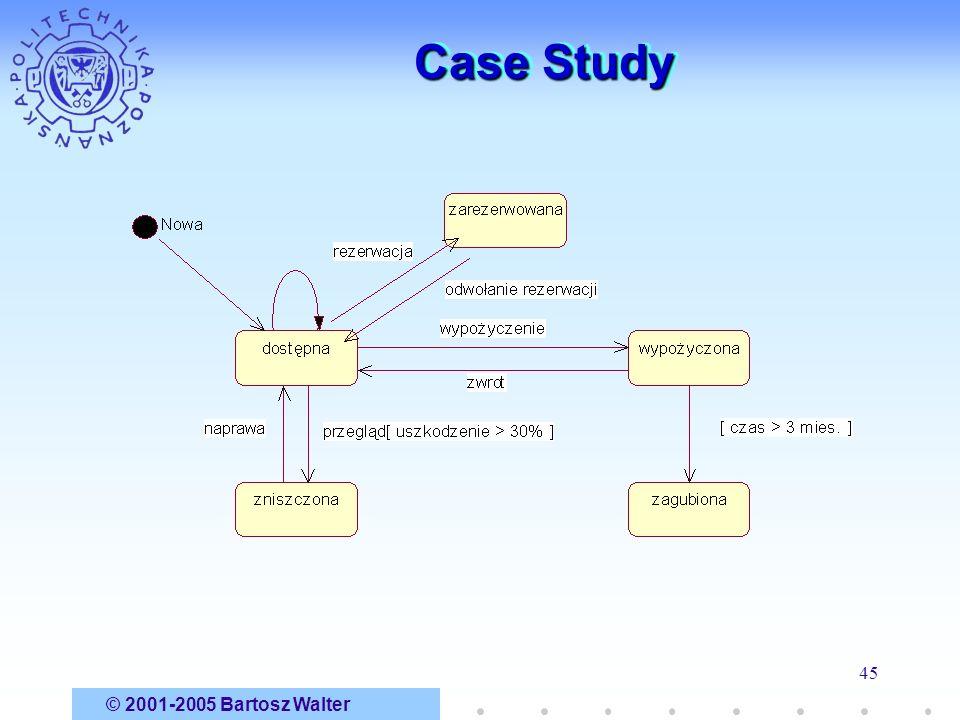 © 2001-2005 Bartosz Walter 45 Case Study