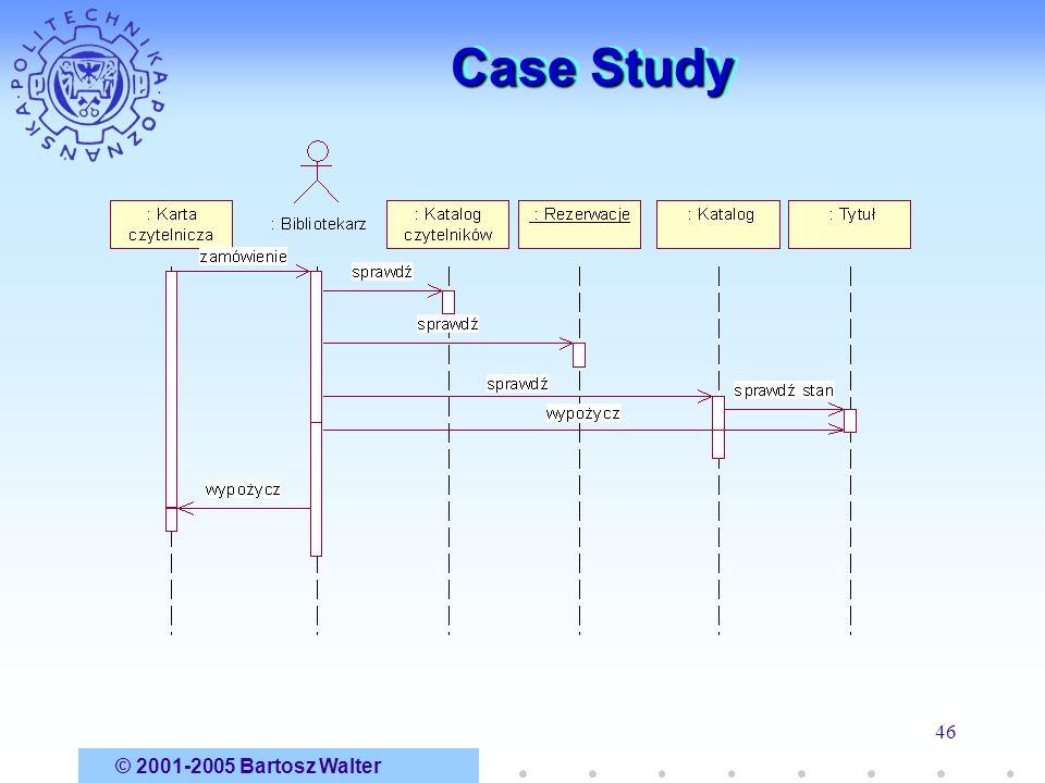 © 2001-2005 Bartosz Walter 46 Case Study