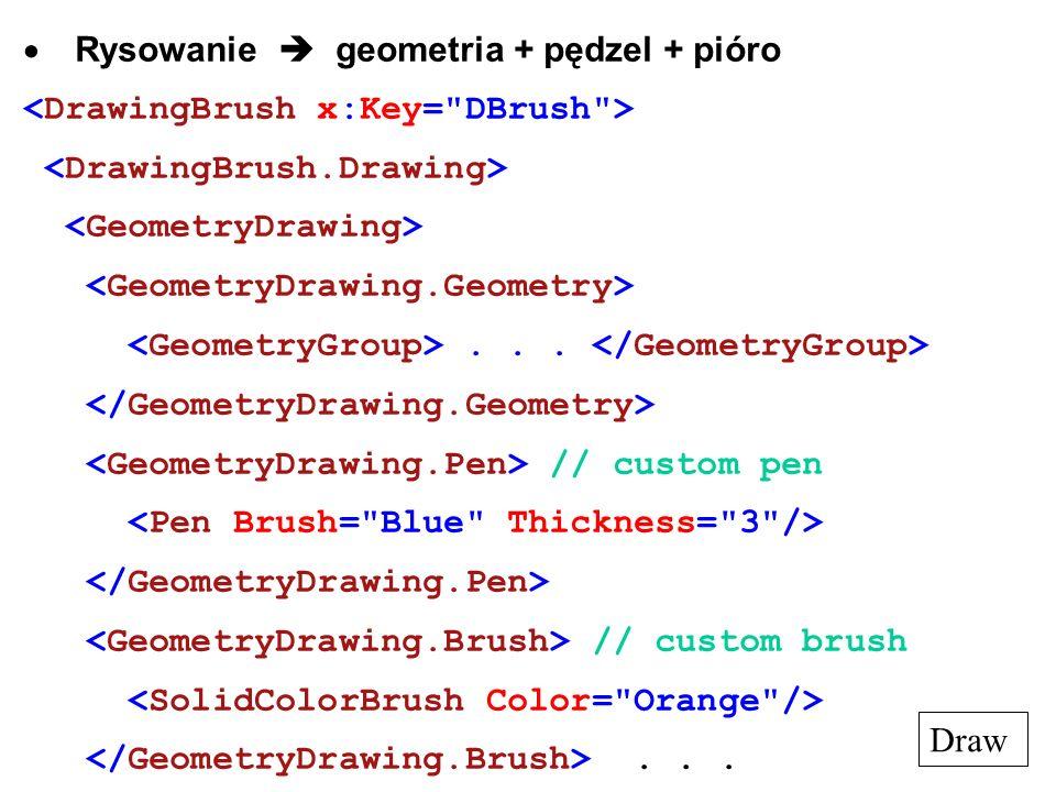 Rysowanie geometria + pędzel + pióro... // custom pen // custom brush... Draw