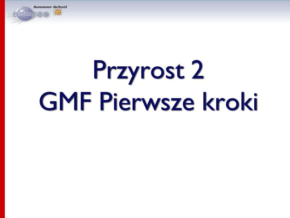 Przyrost 2 GMF Pierwsze kroki