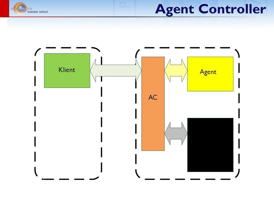 Agent Controller Agent wydajnościowy JVMPI Agent JVMTI Agent (>= 1.5) Agent zbierający logi w czasie rzeczywistym Jakarta Apache Commons Java Logging (JSR-047) Jakarta Apache Log4J Agent zbierający dane statystyczne Windows JBoss JOnAS Agent umożliwiający wykonywanie testów JUnit Runner URL Runner