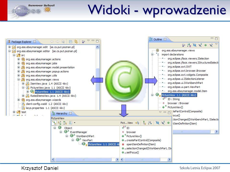 Szkoła Letnia Eclipse 2007 Krzysztof Daniel Widoki - powtórka