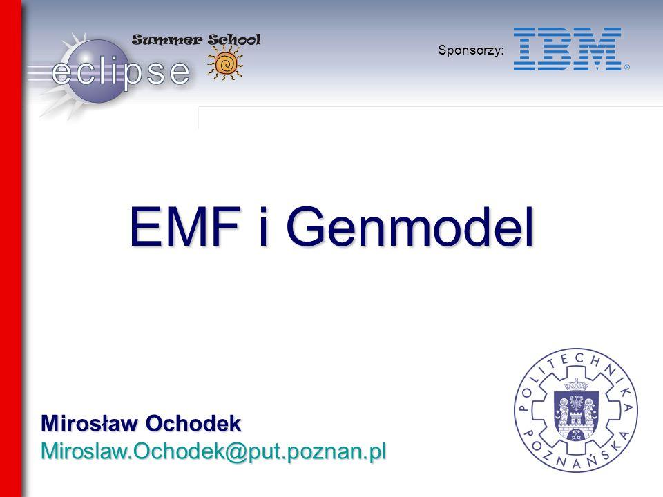 Mirosław Ochodek Miroslaw.Ochodek@put.poznan.pl Sponsorzy: EMF i Genmodel