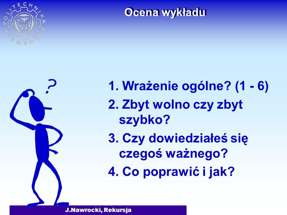 J.Nawrocki, Rekursja Literatura A. Grzegorczyk, Logika matematyczna, PWN