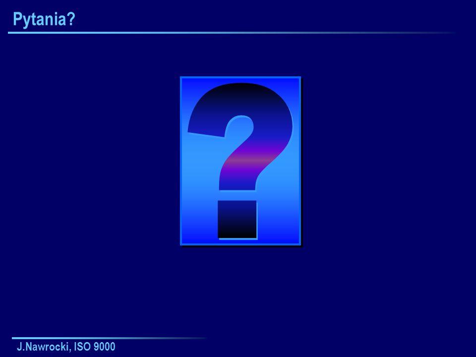 J.Nawrocki, ISO 9000 Pytania?
