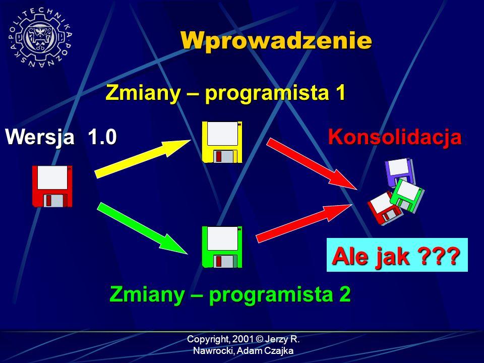 Copyright, 2001 © Jerzy R.Nawrocki, Adam Czajka Ocena wykładu 1.