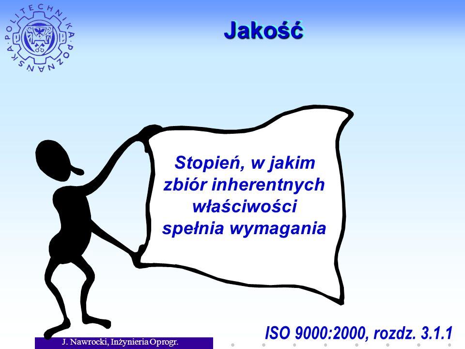 J. Nawrocki, Inżynieria Oprogr. WstępWstęp