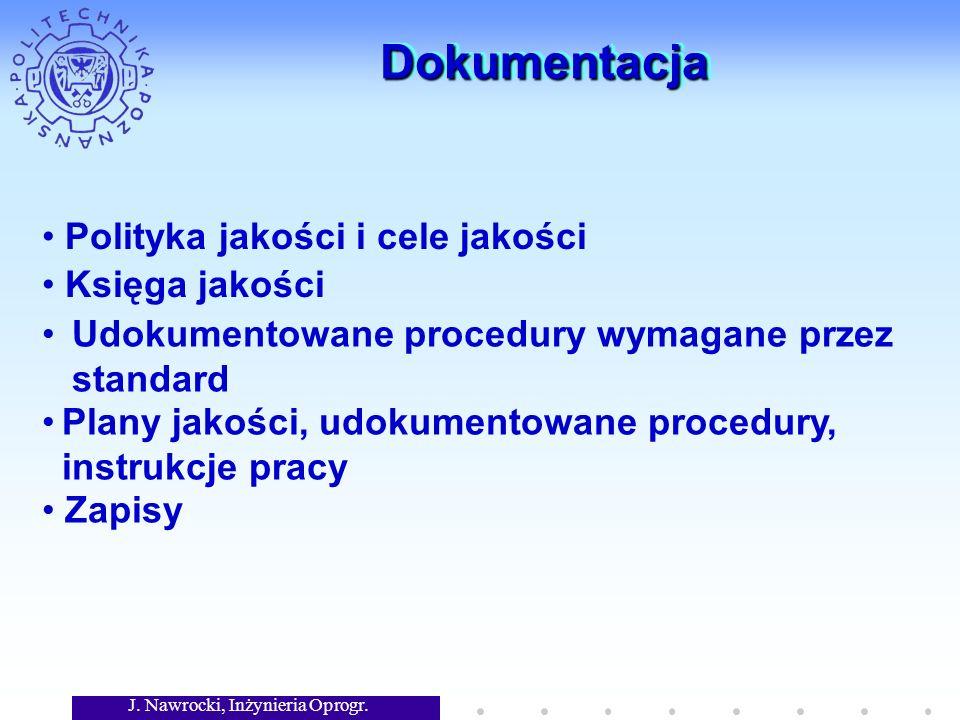 J.Nawrocki, Inżynieria Oprogr. Programowanie parami Cały produkt jest kodowany w parach.
